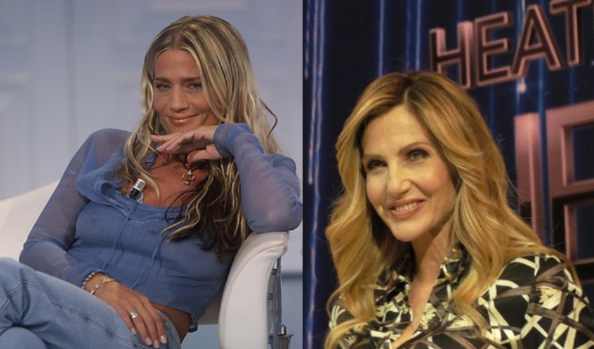 Heather Parisi e Lorella Cuccarini