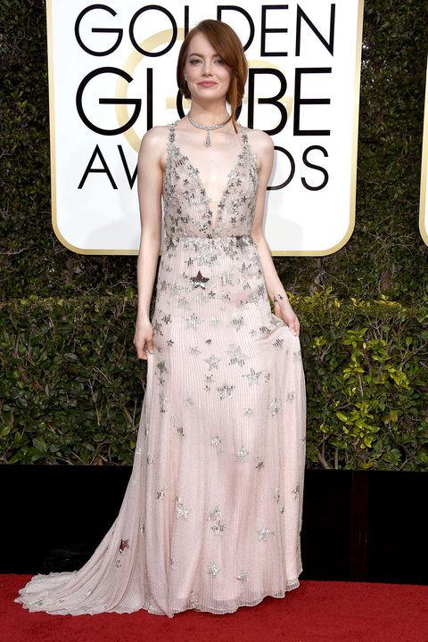 Emma Stone golden globe