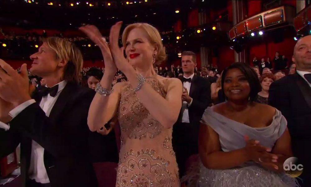Nicole Kidman applauso