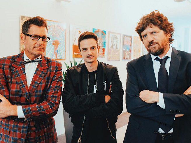 Fabio Rovazzi, Enrico Papi, Fabio de Luigi