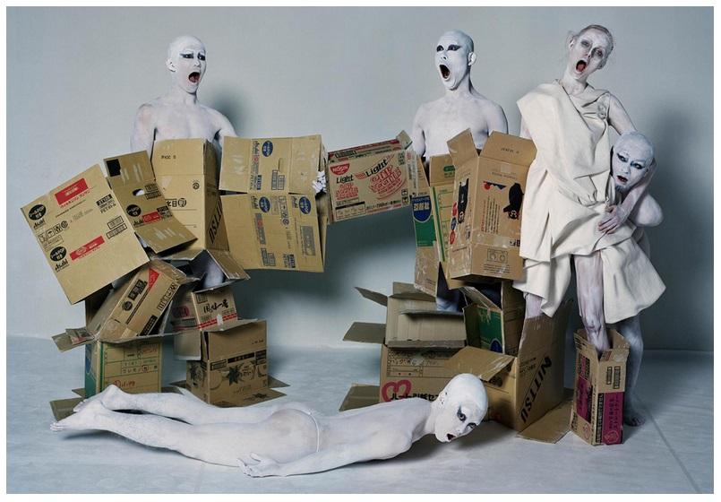 Rianne Van Rompaey, Masahuru Imazu, Yuta Ishiyana, Masashi Nakamura & Barabus Okuyama | Tokyo, Japan | British Vogue | December 2016