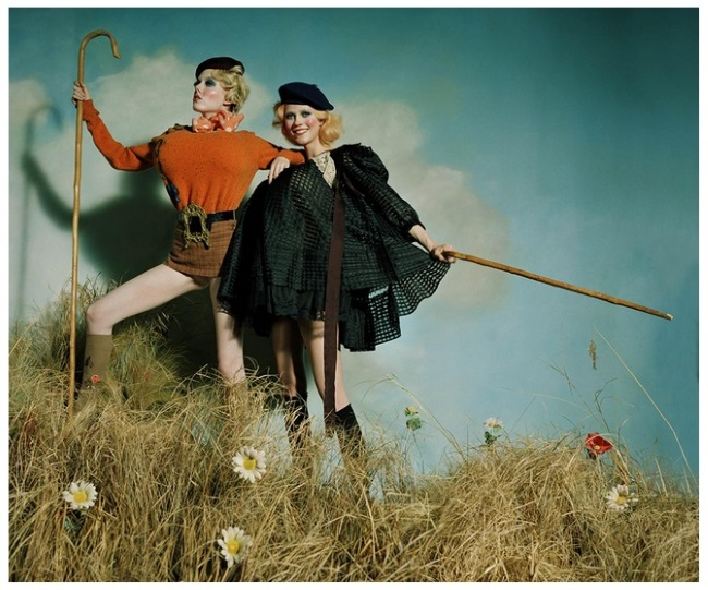 Kiki Willems & Julie Hoomans, an homage to John Currin | London, UK | LOVE Magazine | Autumn/Winter 2016