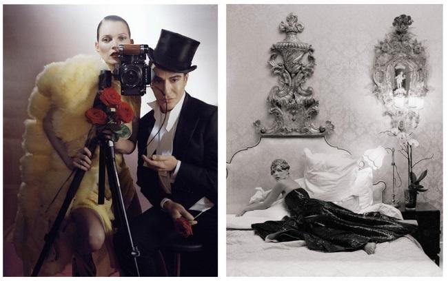 Kate Moss & John Galliano | London, UK / Paris, France | British Vogue / American Vogue | December 2013 / April 2012